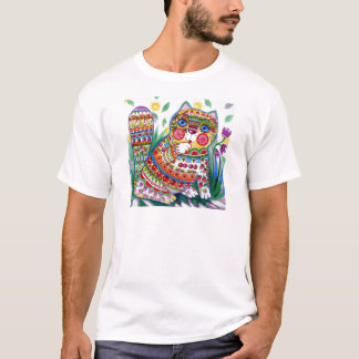 magic spring cat T-Shirt