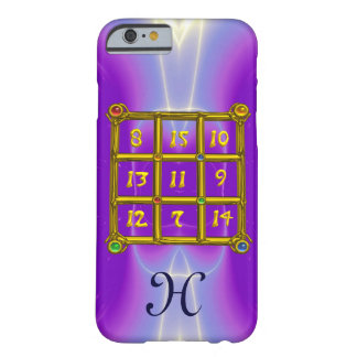 MAGIC SQUARE 33 MONOGRAM Pink Lilac, Purple Barely There iPhone 6 Case