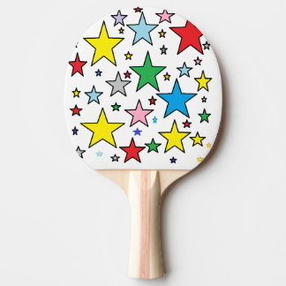Magic Stars Lucky Ping Pong Paddle