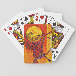 MAGIC STRIDING HORSE PLAYING CARDS