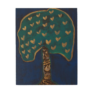 Magic Tree Art Wood Wall Art