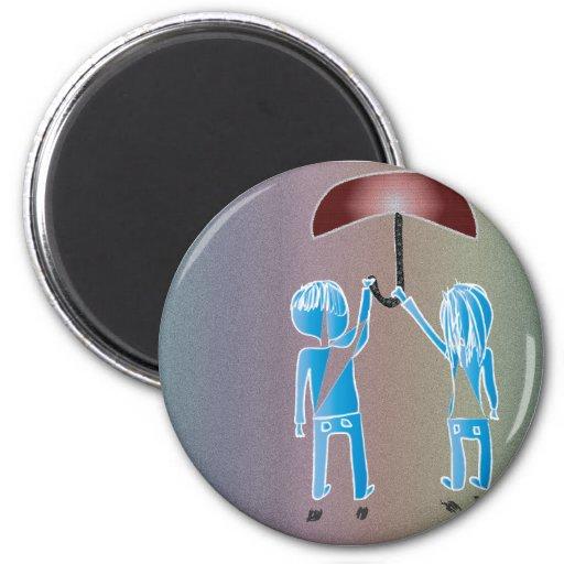 Magic Umbrella Magnet