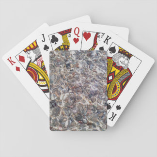 Magic Underwater Pebbles  Classic Playing Cards