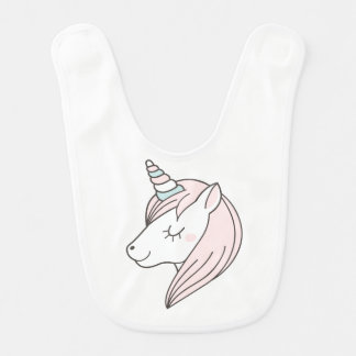 Magic unicorn bib