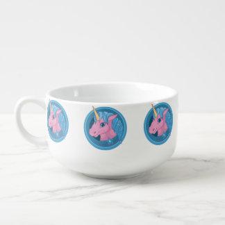 Magic Unicorn cartoon baby illustration Cute horse Soup Mug