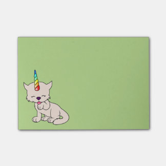 Magic Unicorn Cat = Kittycorn Post-it Notes