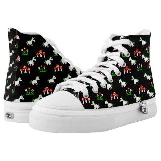 Magic Unicorn Garden Shoes Printed Shoes