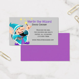 Magic Wizard Business Card