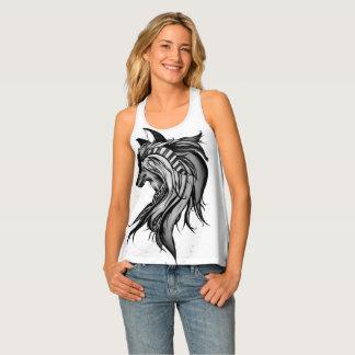 Magic Wolf, Black and White Singlet