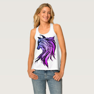 Magic Wolf, Blue and Purple Singlet