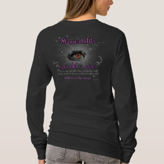 Magicability Sparkly Eyes (Dark) T-Shirt