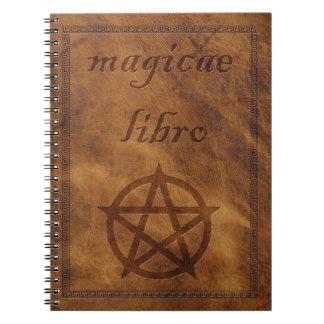 magicae libro spiral notebook