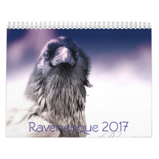 Magical 2017 Raven Calendar