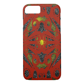 MAGICAL ASTROPLANE ART DECO by Slipperwindow iPhone 8/7 Case