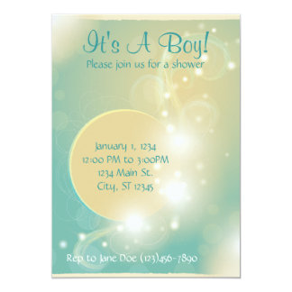 Magical Baby Shower Invitation