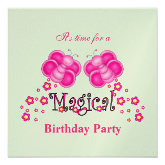 Magical Birthday Party Invitation