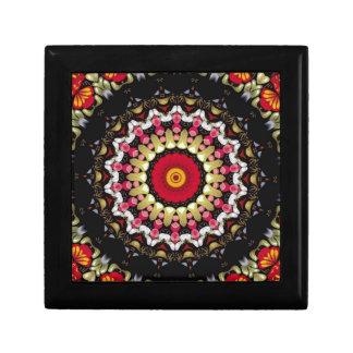Magical Black and Red Mandala Gift Box
