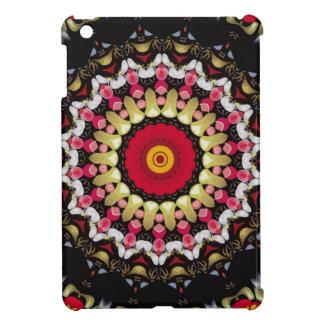 Magical Black and Red Mandala iPad Mini Cover