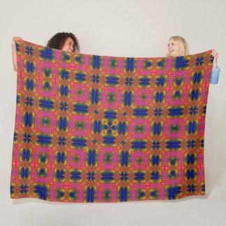 Magical Butterfly Kingdom Pattern Fleece Blanket