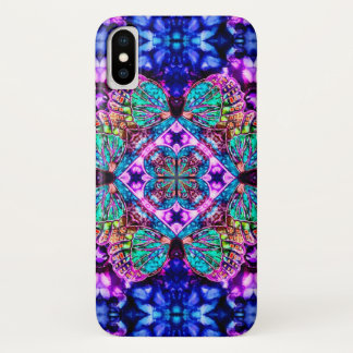 Magical Butterfly Watercolor Mandala Case
