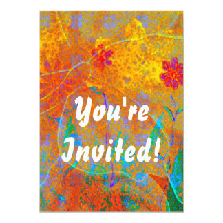 Magical Carpet invitation