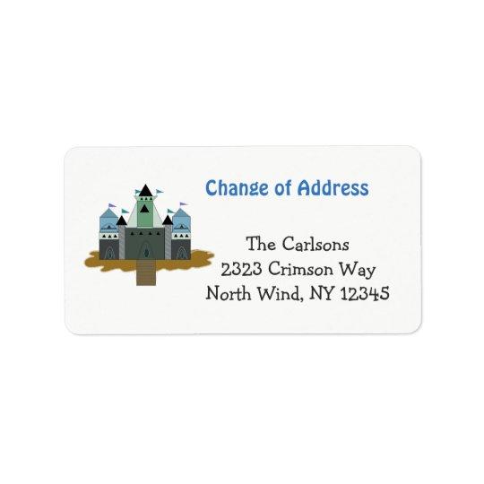 Magical Castle Address Label