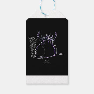 magical cat gift tags