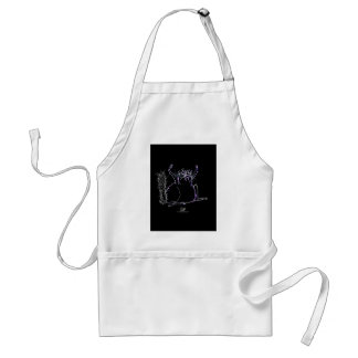 magical cat standard apron