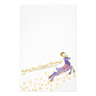 Magical Christmas Stationery Paper