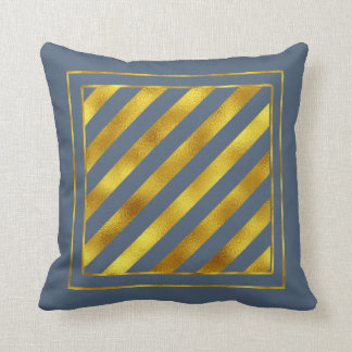 Magical Christmas Stripes Gold ID441 Cushion