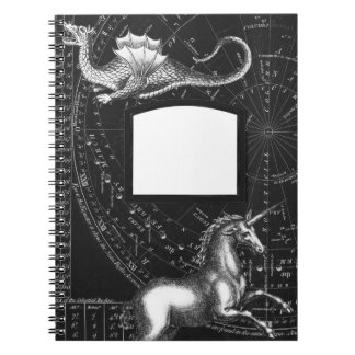 Magical Creatures Constellation Notepad Notebook