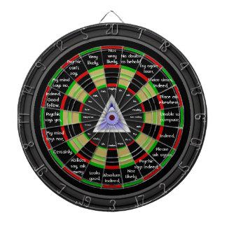 Magical Decision Maker Dartboard
