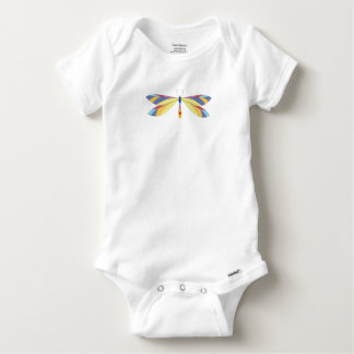 """""""MAGICAL DRAGONFLY"""" BABY ONESIE"""