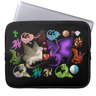 Magical Dragons Laptop Sleeve