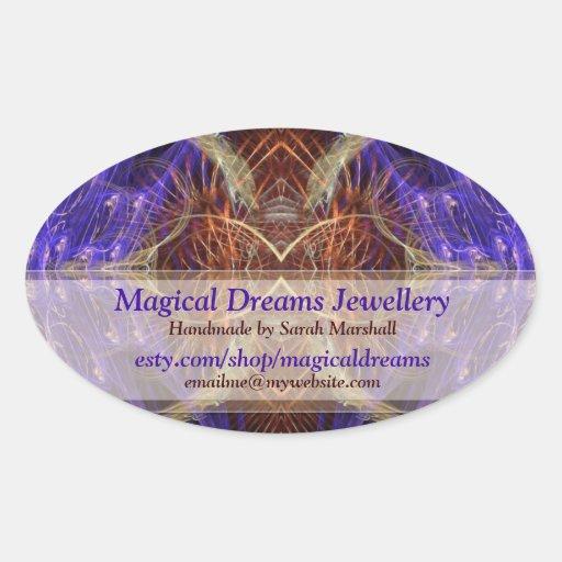 Magical Dreams Artistic Shop Label Sticker