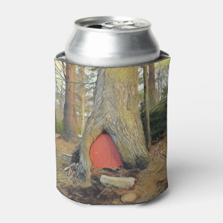 Magical Elf House Can Cooler