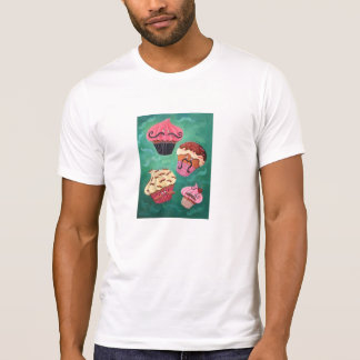 Magical Emporium of Flying Mustached Cupcakes Tee Shirt