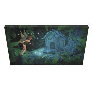 Magical Fairy Design Canvas Print