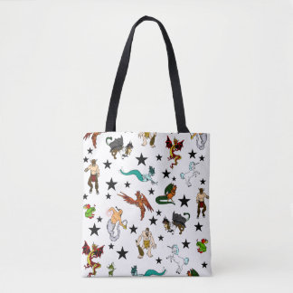Magical Fantasy Creatures Tote Bag