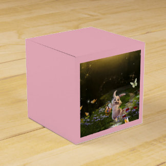 Magical Fantasy Easter Bunny Scene Favour Box