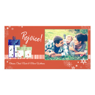 Magical & Festive Holiday Family Photo Card