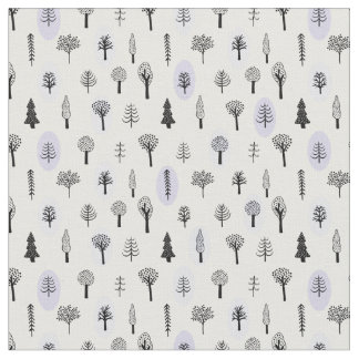 Magical forest fabric