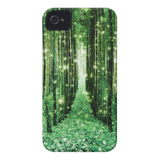 Magical Forest Green Mystery iPhone 4 Covers