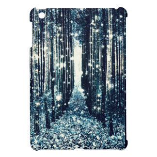 Magical Forest Teal Gray Elegance Case For The iPad Mini