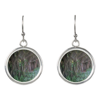 Magical Forest Tree Path Earrings
