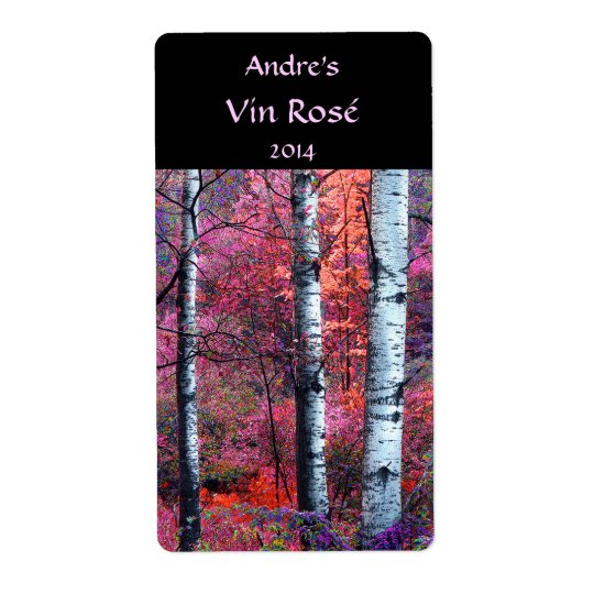 Magical Forest Wine Label