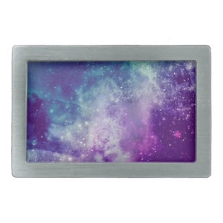 Magical Galaxy Rectangular Belt Buckles