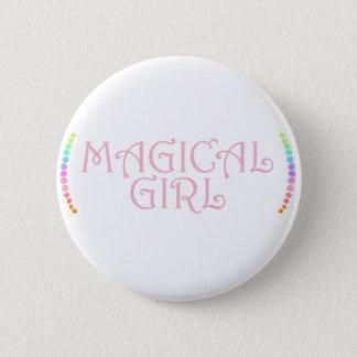 Magical Girl 6 Cm Round Badge