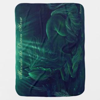 Magical green blanket - Mercutio the Dream Horse