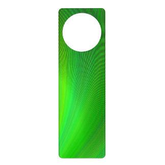 Magical green door hanger